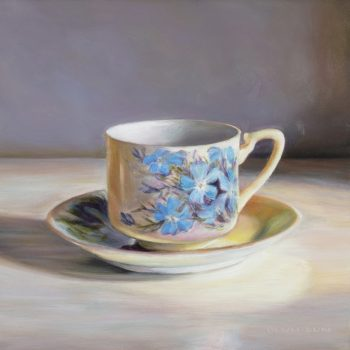 Wildflower Teacup, Leschenaultia