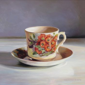 Wildflower Teacup, Redgum