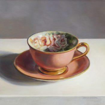 Flora Teacup, Pink