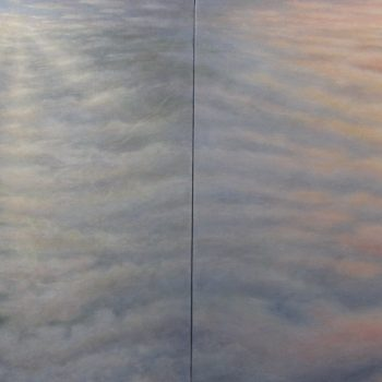 River Dawn Ancient Sunset (Diptych)