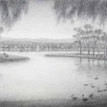 Lagoon (East Perth) after Huggins 1827