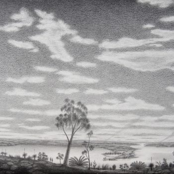 Southern View to Beeloo (South Perth) and Beeliar Country (Applecross) after Garling 1827
