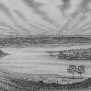 Eastern View to Mooro Katta Kings Park and Byerbrup Ridge after Campbell 1910