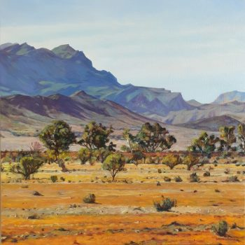Late in the Afternoon, Flinders Ranges