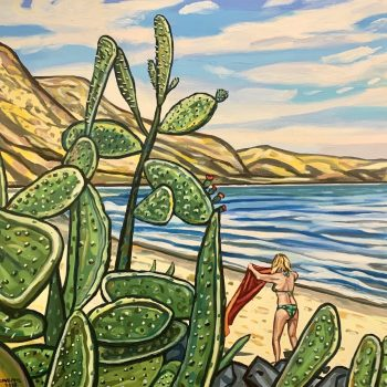 Lady Bay (with cactus)