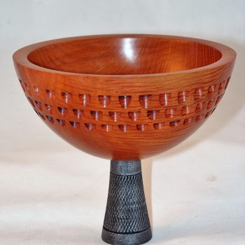 Sheoak Bowl on Pedestal