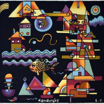 Tiggy Collection Kandinsky, Out Yachting with Tiggy (Edition of 99)