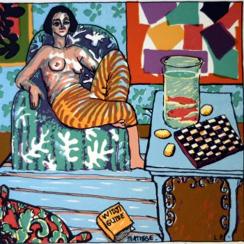 Tiggy Collection Matisse, Sunday Afternoon with Tiggy and the Goldfish (Edition of 99)