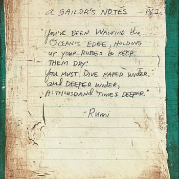 A Sailor's Notes: Pg. 1